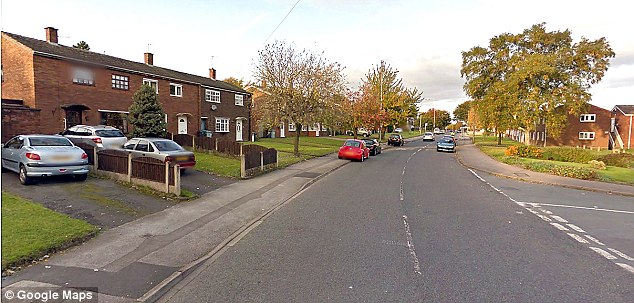 Stroud Avenue, Willenhall, near where Stacey Ball and Lola Page disappeared. Ball was seen getting into and driving away in a dark-coloured car