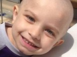 On May 19 Nicolas (pictured) was diagnosed with cancer and had to undergo surgery and chemotherapy