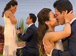 SPOILER ALERT: 'I've loved you from the moment I saw you': Andi Dorfman accepts Josh Murray's proposal in dramatic Bachelorette finale