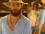 Italian holiday: Jared Leto enjoyed a break from his music tour on Sunday in Ponza, Italy