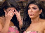 Staying strong: Teresa Giudice told her friends on Sunday night's episode of The Real Housewives Of New Jersey that she was not going to crumble due to her family's legal troubles