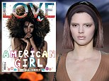 'It's not weird!':18 year-old Kendall Jenner reveals she was 'comfortable' being photographed topless because it was about 'having energy and good music' on set