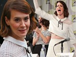Sarah Paulson is prim and proper in vintage ensemble but adds a touch of daring with cropped blouse as she leads cast of American Horror Story at Comic-Con