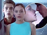 Brenton Thwaites and Odeya Rush share more romantic kisses in music video featuring new scenes from The Giver
