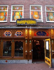 Dampkring Coffee Shop Cannabis Amsterdam, Netherlands