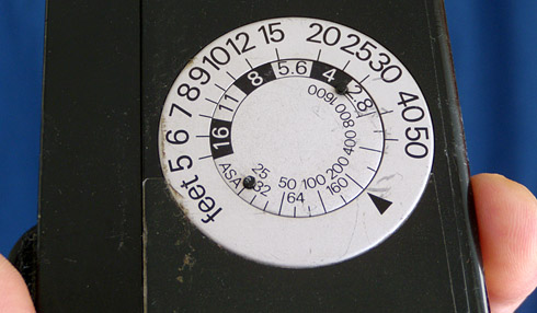 Flash Calculator Dial