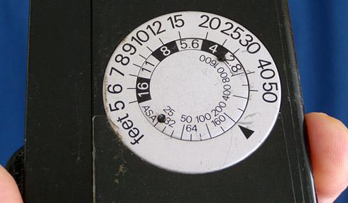 Flash Calculator Dial