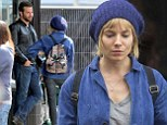 No chef whites for them! Sienna Miller sports dowdy beanie and denim jacket as she films new culinary flick with Bradley Cooper in London