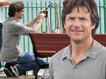 Hope he's not a Horrible Boss! Jason Bateman works his directorial magic on set of The Family Fang in New York