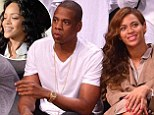 As Beyonce¿s marriage is hit by claims of trouble, did Solange accuse Jay Z of cheating with Rihanna in THAT elevator bust-up?