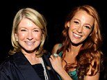 'Let her try': Martha Stewart blasted comparisons to Blake Lively as called the star's new lifestyle venture 'stupid', pictured together in NYC in 2011