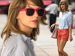 Taylor Swift was seen leaving the gym and arriving home on Tuesday exhibiting a flawless appearance after a workout. The long-legged 24-year-old looked to be in great shape, both in fitness as well as fashion, as she made her way around New York City