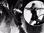 Nude Eva Green, Jessica Alba gyrating and Jamie Chung firing a bow in hotpants: The ladies of Sin City dominate new violent A Dame To Kill For trailer