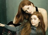 Julianne Moore & daughter, Liv Freundlich.  MUST link back to Vogue.com (AmericanVogue.com from outside the US).