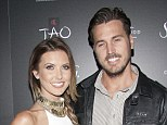 It's over: Audrina Patridge and Corey Bohan, seen here at the Venetian Hotel in Las Vegas in 2013, have split up ending a five-year relationship
