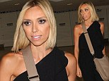 Love it! Giuliana couldn't help but touch her new blonde stresses as she stepped out in New York City Monday