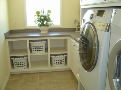 DIY Laundry Room Cabinets - TodaysMama