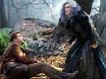 Meryl Streep gets witchy! Disney teases 10 production photos of its big-screen musical adaptation of Into the Woods