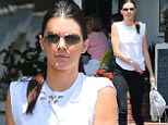 Kendall Jenner rocks edgier style on lunch outing in LA... as new KUWTK teaser shows brother Brody Jenner rush to her aid when she's groped during Thai vacation