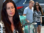 Domestic bliss! Alanis Morissette manages to make a trip to the supermarket romantic with husband Mario Treadway