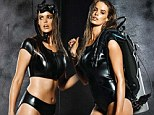 Underwater goddess! A neoprene-clad Robyn Lawley makes a splash in a black scuba suit as shares first look at her new swimwear range