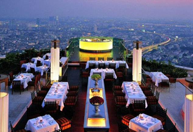 Impressive: The Sirocco, Bangkok will offer unrivalled views of the city
