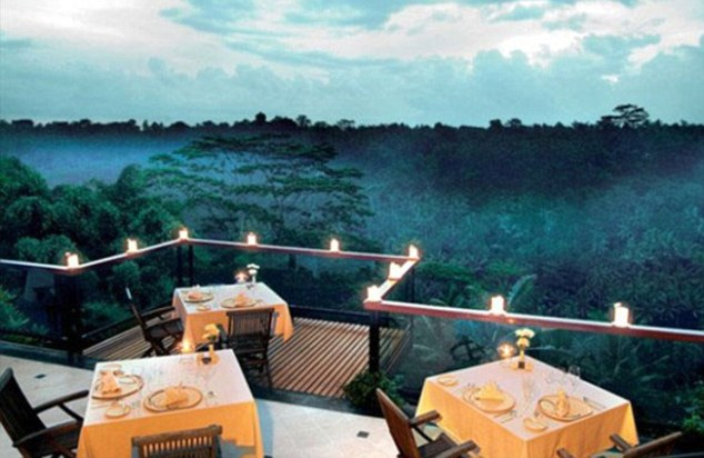 Misty in roots: Bali's central highlands are blessed with long-reaching views of paddies, trees and valleys, and La View in Ubud offers a split level dining experience with the majestic sights of the surrounding countryside