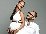 'We've been blessed with another angel': Alicia Keys announces she's pregnant with second child on her and Swizz Beatz's fourth wedding anniversary