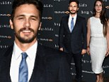 James Franco gets some A-list support from rumoured love Lana Del Rey at the New York premiere of his new film Child Of God