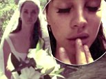 Finger sucking, an orange, and a long walk down the aisle: Lana Del Rey plays a bride with no groom in melancholy Ultraviolence music video