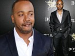 Arrest warrant: Columbus Short, shown leaving a Los Angeles courthouse in May, missed court on Wednesday for his domestic violence case and a warrant was issued for his arrest