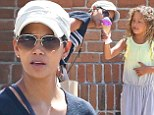 Sweets for her sweet! Halle Berry treated her daughter Nahla to ice cream as they ran errands in Los Angeles on Wednesday