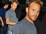 The perfect place to light his birthday candles! Stephen Dorff celebrates turning 41 at the Chiltern Firehouse