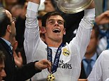 Homecoming: You can win the chance to see Real Madrid's Gareth Bale back in Cardiff when the European champions take on Sevilla in the UEFA Super Cup final