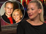 'He was just so beautiful!' Kate Hudson reveals her favourite on-screen kiss of all time was with the late Heath Ledger