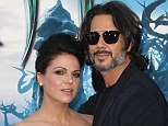Happy news! Lana Parrilla and Fred Di Blasio - seen here at the Maleficent premiere in May - have secretly wed
