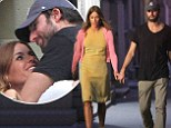 Kelly Bensimon cuddles up to her boyfriend Alejandro Lorenzo during romantic dinner date in New York