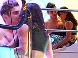 EXCLUSIVE Zac Efron and Michelle Rodriguez get romantic whilst hosting a party on board their yacht in Ibiza. During the course of the night the police were called out due to the excessive noise. After arriving on the scene they closed the party down.  BYLINE MUST READ : VANTAGE NEWS/XPOSUREPHOTOS.COM 1 August 2014. Please byline: Vantagenews.co.uk