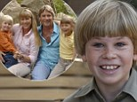 Crikey! Robert Irwin following in his father's footsteps as a nature series TV host