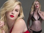 Model behaviour! Ireland Baldwin strips down to a bikini in a behind-the-scenes look at her new fashion campaign