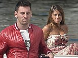 Messi and missus