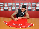 On the move: Dejan Loven has sealed a £20m switch to Liverpool from Southampton
