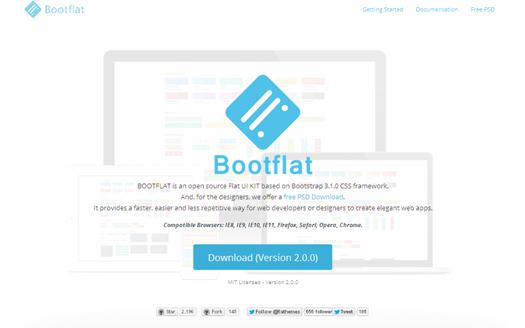 Flat UI Kit for Bootstrap CSS Framework - Bootflat