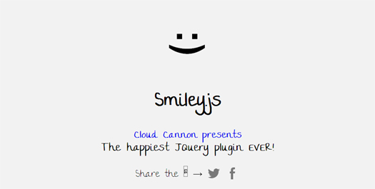 jQuery Plugin for Rotating Smiley Faces - Smiley.js