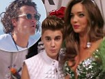 'He's very persistent!' Justin Bieber tried to contact Miranda Kerr 'several' times after flirtatious Victoria Secret show while she was STILL with Orlando Bloom