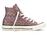 Coverse is getting an Italian make-over for August, with a colorful new All Star Missoni collection