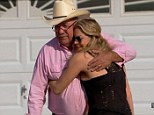 A different world: On the latest episode of her reality show, LeAnn And Eddie, LeAnn Rimes and husband Eddie Cibrian travelled to visit her father in 'cowboy country'