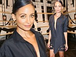 Nicole Richie was simply helping out a friend on Friday evening when she hosted a book signing for interior designer Ryan Korban. But the former Simple Life star also happened to steal part of the limelight when she arrived to the event looking gorgeous in a plunging black shirt dress.