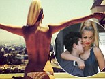 She's one Crazy Girl! Rita Ora shares topless bikini snap as she overlooks Los Angeles skyline... after inviting a lucky fan to VMAs shoot