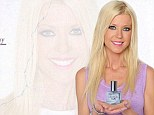 Will it have teeth? Tara Reid launched her new perfume Shark By Tara but plumped for a classic square bottle